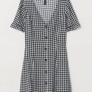 H&M Gingham dress