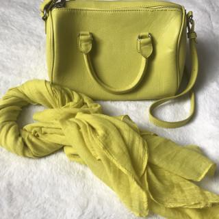 cb607787b7ac Lime zöld táska és kendő