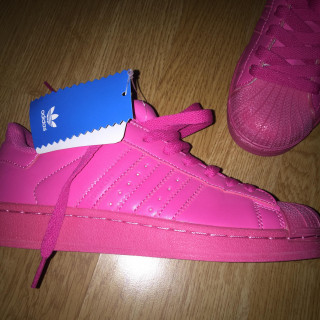 ÚJ adidas superstar pink / Pharrell Will…